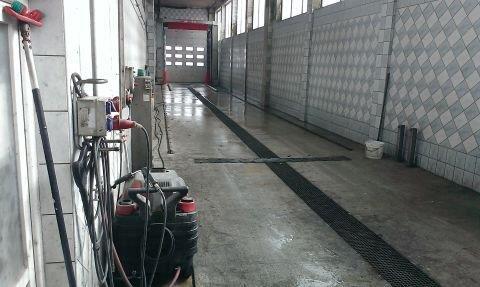 Waschanlage für Lkw und Nutzfahrzeuge